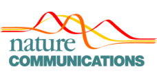Nature Communications logo.